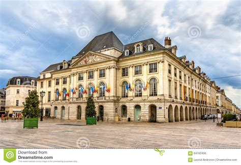 chambre de commerce du loiret in orleans stock photo