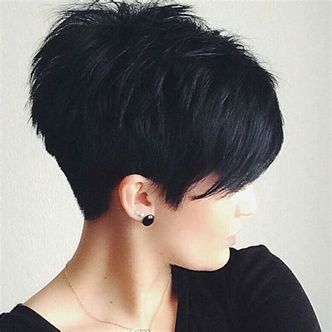 pixie hairstyle full on top tapered back for women 20 cute easy short pixie cuts for oval faces styles weekly