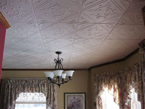 decorated ceiling ceiling tiles installed in clyde ohio decorative ceiling
