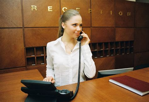 receptionists work at the armed forces in abu dhabi