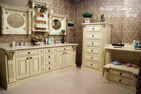 High End Bathroom Furniture High End Bathroom Furniture China High End Solid Wood Bathroom Vanity Hp Bv1 China Bathroom