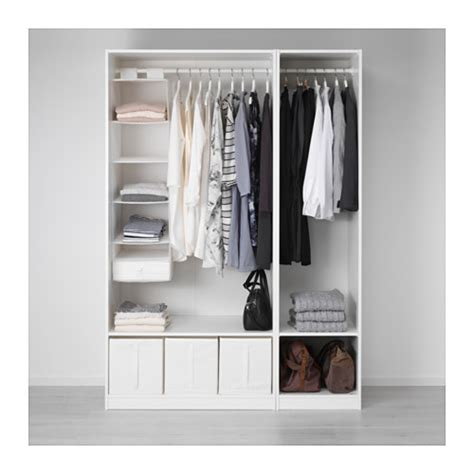 planner guardaroba ikea pax wardrobe white vikedal mirror glass 150x60x201 cm ikea