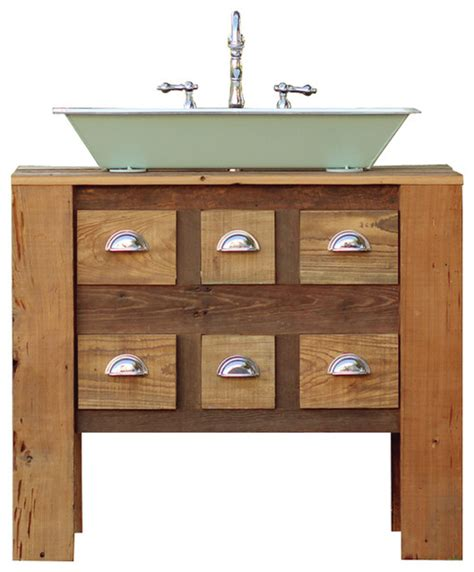 36 quot industrial trough sink reclaimed barn wood kitchen