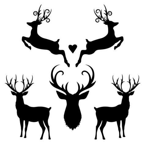 free silhouette images deer vectors photos and psd files free download