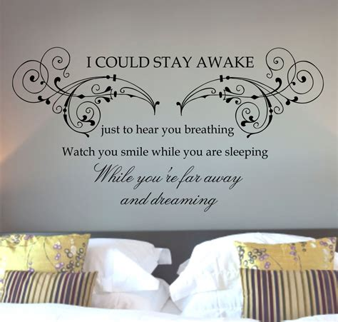 bedroom wall art stickers wall quotes images buy aerosmith quote wall art sticker