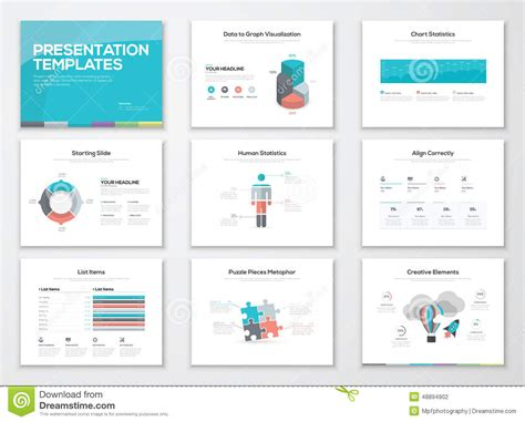 presentation layout vector infographics presentation templates and business media