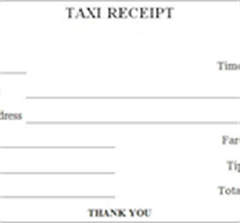 houston taxi receipt template blank cab receipt template