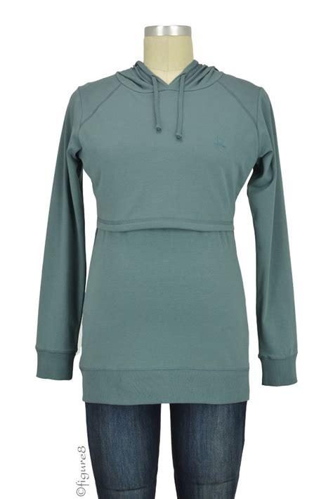 design turquoise hoodie boob design b warmer organic knitted nursing hoodie in