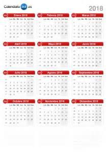 Paraguay Kalendar 2018 Calendario 2018