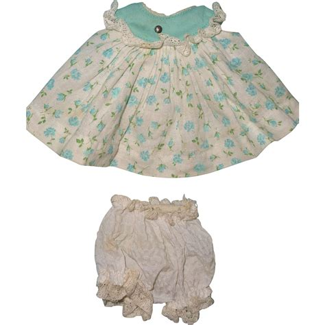 vogue composition doll tagged vogue dress fits ginny doll or effanbee composition