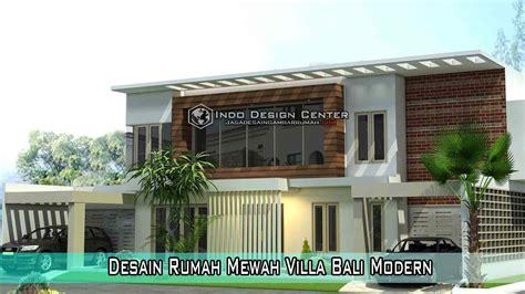 desain rumah villa mewah desain rumah mewah villa bali modern jasa arsitek jakarta