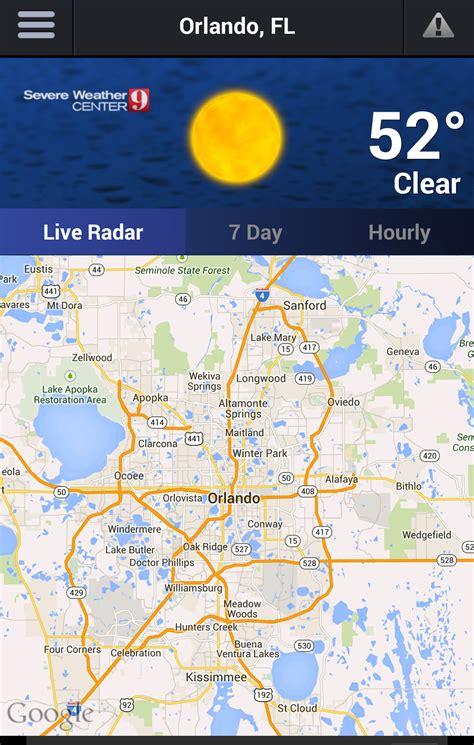live weather map orlando weather app wftv
