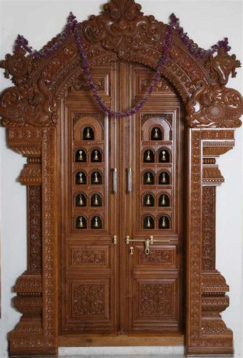 room door design latest pooja room door frame and door design gallery