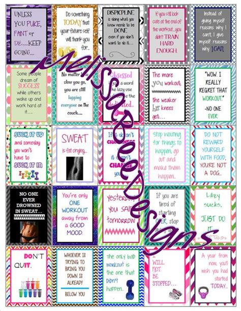 printable quotes planner workout motivation quote printable labels for erin condren