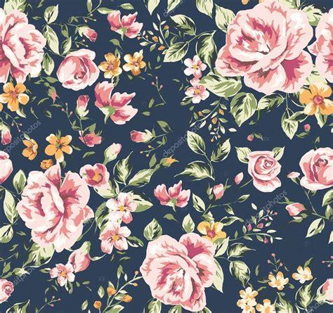 pattern flower illustrator seamless classic wallpaper vintage flower pattern