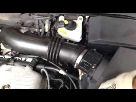 ford focus zx   iac valve removal doovi