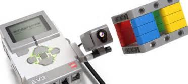 ev3 color sensor 大拇指教室 兒童程式 積木創作 使用顔色感應器 樂高機器人ev3使用說明