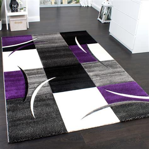 lila teppich designer teppiche und hochflor teppiche
