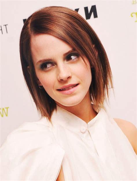 emma watson short hair bob emma watson short straight red hairstyle styles weekly