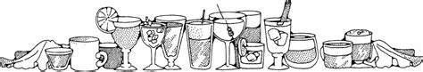 mixed drink clipart black and white beverages clip art download