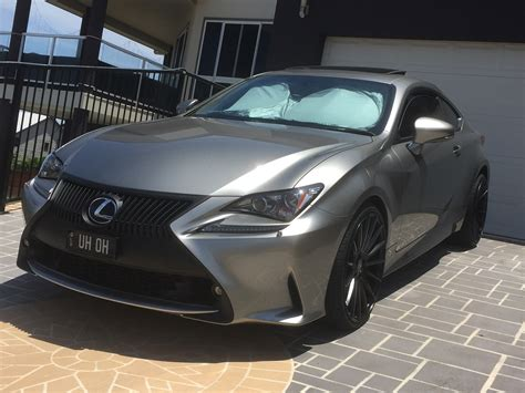 lexus atomic silver rc350 f sport in atomic silver lexus rc350 rcf forum