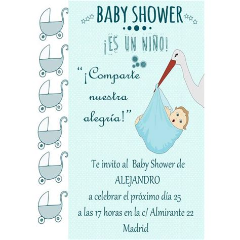 Ideas Para Baby Shower De Ni O Gratis by Invitaciones Para Baby Shower Ni 241 O Gratis Cryptorich