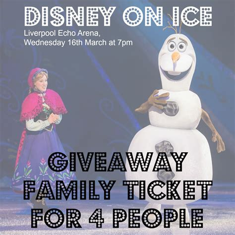 Disney Ticket Giveaway - disney on ice ticket giveaway notes to self