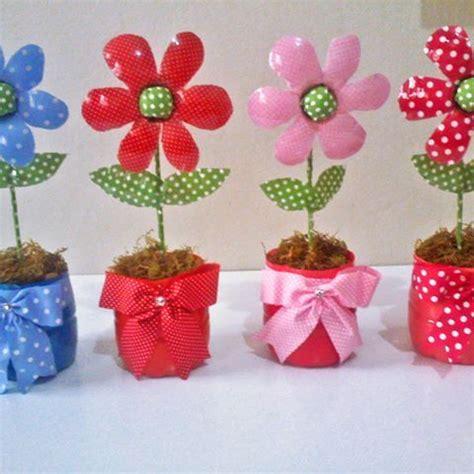 flores vasos de plastico de cafe papel macetas manualidades dia de la adorables ideas con botellas de pl 225 stico de pl 225 stico