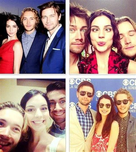 adelaide kane and torrance coombs adelaide kane toby regbo and torrance coombs reign cast