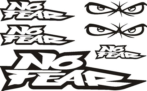 Kaos Motocross Fly With Our Fear no fear racing logo www pixshark images galleries