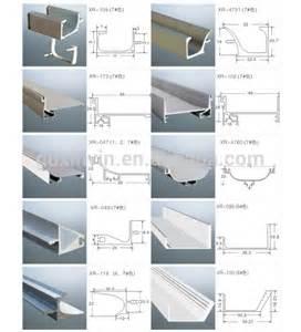 Bronze Kitchen Cabinet Handles kitchen g shaped aluminium handle profile with plastic end