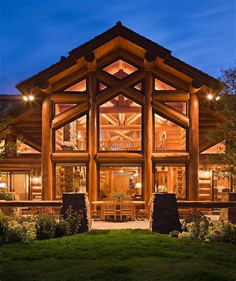 Home Plans With Large Kitchens by July Is National Log Home Open House Month