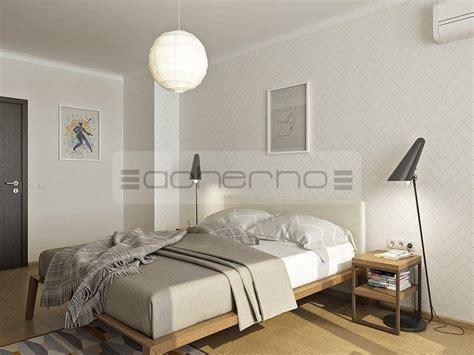vorhänge skandinavisches design dekor schlafzimmer skandinavisch