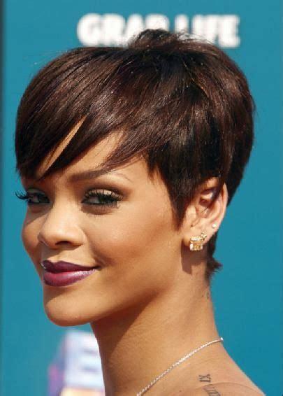 rihanna short hair ebony cuts pinterest shorts 17 best images about next haircut ideas on pinterest