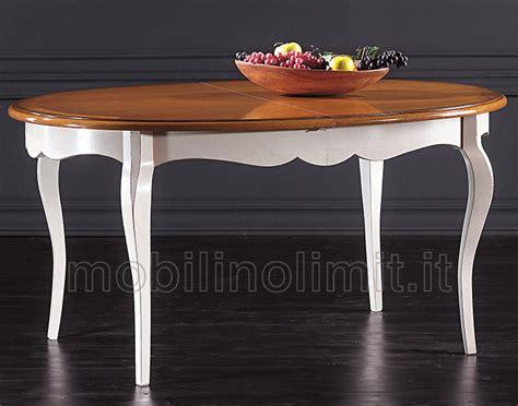 tavolo allungabile noce tavolo allungabile ovale bianco e noce