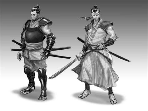concept design vs illustration samurai concept art and illustration concept art world