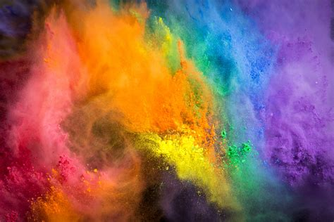 color flash flash of color twelve pounds of powdered paint got