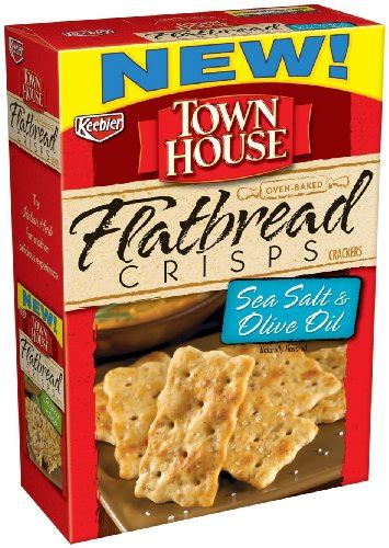 town house crackers keebler town house pita crackers sea salt 9 5 ounce food beverages tobacco food