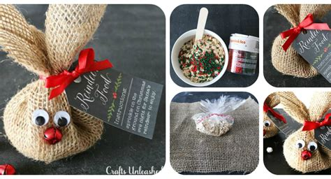 reindeer food craft project burlap sack diy reindeer food for brilliant