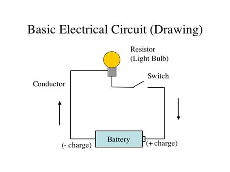 how to draw electric circuit