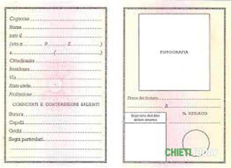 comune di chieti ufficio anagrafe a francavilla arriva la carta d identit 224 elettronica