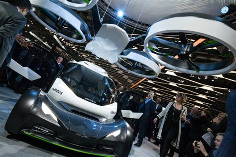 Flying Car Airbus by Airbus And Italdesign Pop Up Flying Car