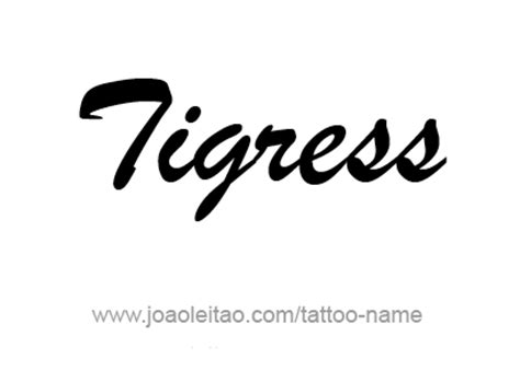 tigress tattoo designs tigress animal name designs
