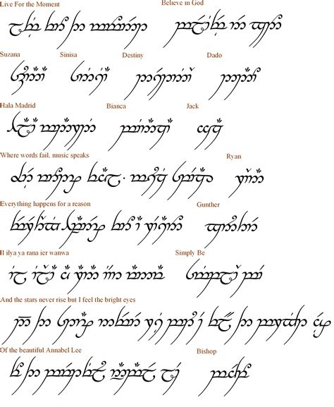elvish love quotes quotesgram