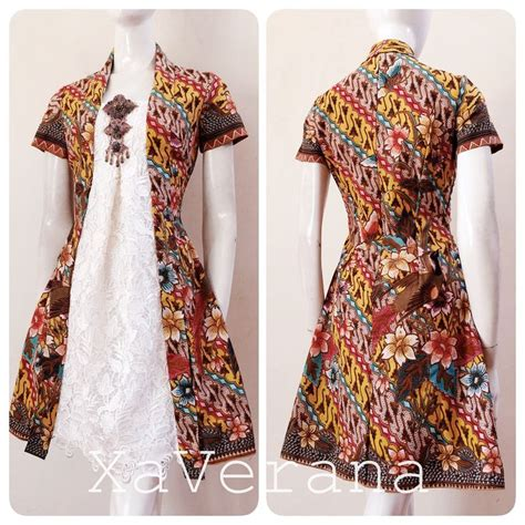 gambar design batik modern dress 89 best kebaya by xaverana images on pinterest batik