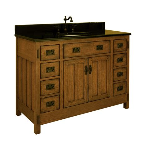 48quot american craftsman single bath vanity bathgemscom