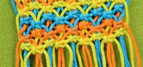 Easy Macrame Belt Patterns - macrame abc pattern sle 9 171 knitting crochet