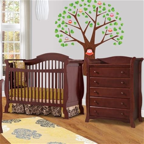 Convertible Crib And Dresser Set by Storkcraft 2 Nursery Set Valentia Convertible Crib