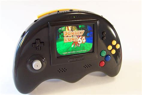 n64 console bungle portable n64 shiny console technabob