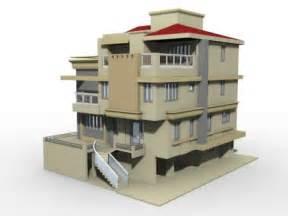 build a 3d house 187 free 3d house building model free 3d news 3d studio max 8 9 2008 2009 2010 free 3d